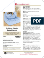 Building Blocks blanket