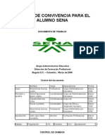 Manual de Convivencia Para El Alumno Sena