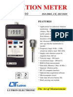 Lutron Vibration Meter VB-8200