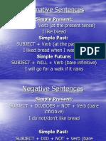 Negative-Interrogative and Affirmative Sentences