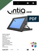 Cintiq 24HD User Manual