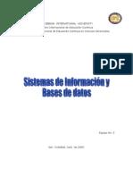 Sistema de información y Base de Datos