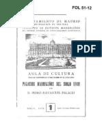 Palacios Madrileños S. XVIII
