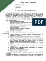 Tema 3 Politica Fin