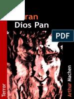 El Gran Dios Pan - Arthur Machen