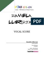 CANTÀNIA 2014-Rambla Llibertat (Veu+orquestra)