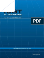 IJST- Vol(7)- No (4) December 2012