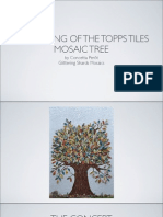The Making of the Topps Mosaic Tree by Concetta Perot, Glittering Shards Mosaics