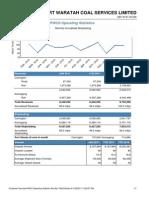 Operating Statistics
