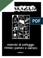 [E-Book Solfeggio] SBARAGLIO - Solfeggio Ritmico, Parlato e Cantato (Vol 1)