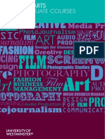Creative Arts PG Courses