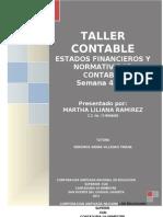 Taller Semanas 4 y 5 Martha Liliana Ramirez