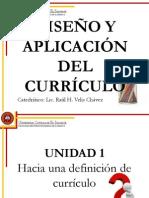 Lección 1.1 Concepción del Currículo