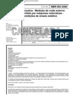 NBR 6393 Acustica Medicao Ruido Externo Emitido Maquinas Rodoviarias