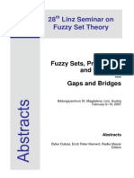 28th Linz Seminar on Fuzzy Set Theory, 2007