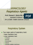 Respiratory Agents