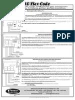 Manual RC Flex Code Duplo Simples e Liga e Desliga Curva
