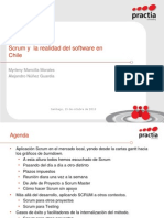 Scrum y  la realidad del software en Chile.ppt