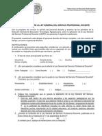 Cuestionario Ley Spd 021013