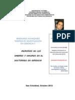 PORTAFOLIO del Seminario Avanzado Diseños de Investigación en Gerencia I