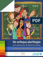 Un Enfoque Pluringue Educacion Alumno Sordos ARG 2013