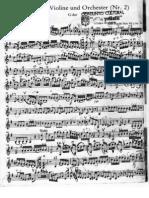 HAYND Concierto Sol M Para Violin - Violin II Completo