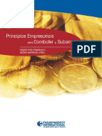 Portugues Principios Empresariais Para Combater o Suborno Pequenas Medias
