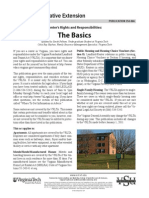 Renter's Rights and Responsibilities