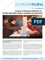 Boletín Economía Plural N° 61