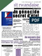 La Lettre de La Nuit rwandaise N°5