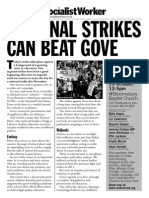 National Strikes Can Beat Gove