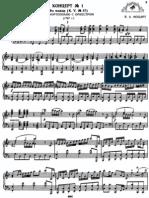 Piano Concerto K 37