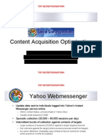 NSA - A - Sso Content Optimization Detailed Redacted