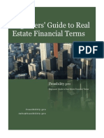 Beginners Guide to Real Estate Financial Terms