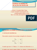Metodos Numericos Matlab Cimatec