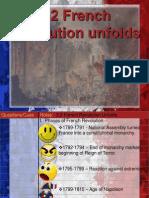 3.2 French Revolution Unfolds