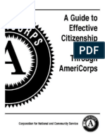 Corporation for National ServiceA Facilitator's Guide to Effective Citizenship Through AmeriCorps