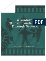 A Guide To Student Leadership Development Through Service