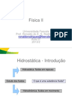Aula_01 - Hidrostática e Hidrodinâmica(1)