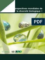 Perspectives mondiales de la diversité biologique 3