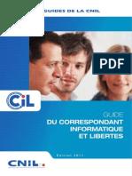 Le guide des Correspondants Informatique et Libertés (CNIL)