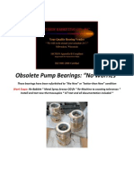 Obsolete Pump Bearings