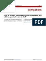 Bmj 2013 Statin and Diabetes Correccion