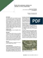 Datos Finales Del Yacimiento Achelense de Portomaior as Neves Pontevedra
