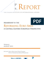 RAPORT- Raport PISM Membership in the a Central-Eastern European Perspective - Reforming Euro Area (5)