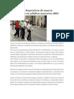 10/10/13 Enfoqueoaxaca Trastornos Depresivos de Mayor Prevalencia en Adultos Mayores