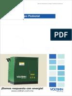 Transformador de Distribucion Aceite Voltran
