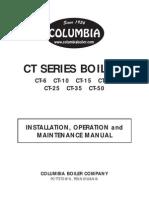 Caldera Columbia CT-25 Manual