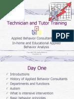 Technician and Tutor Training Slides-Original