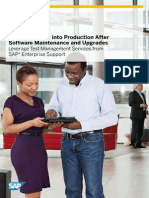 Move Smoothly Into Production After Software Maintenance and Upgrades
